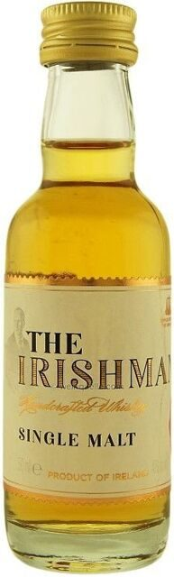 "Виски ""The Irishman"" Single Malt, 50 мл"