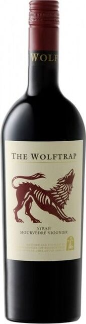 The Wolftrap Red Syrah-Mourvedre-Viognier 2017