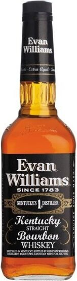"Виски ""Evan Williams"" Extra Aged (Black), 0.75 л"