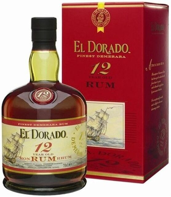"Ром ""El Dorado"" 12 Years Old, gift box, 0.7 л"