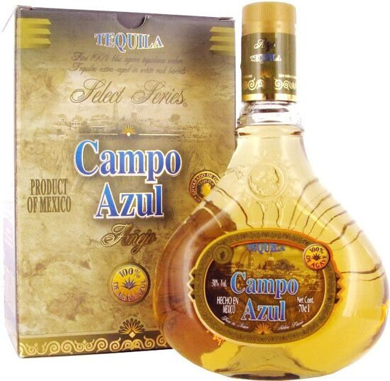 "Tequila Anejo ""Campo Azul"", gift box, 0.7 л"