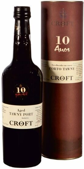 Croft, Tawny Port 10 Years Old, gift tube