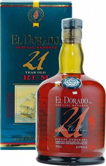 "Ром ""El Dorado"" Special Reserve 21 Years Old, gift box, 0.7 л"