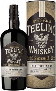 Виски Teeling, Single Malt Irish Whiskey, in tube, 0.7 л