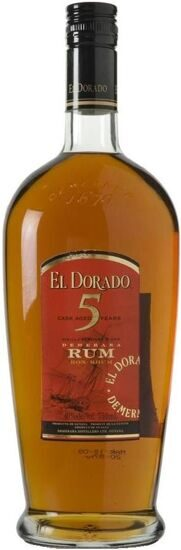 "Ром ""El Dorado"" 5 Years Old Cask Aged, 0.7 л"