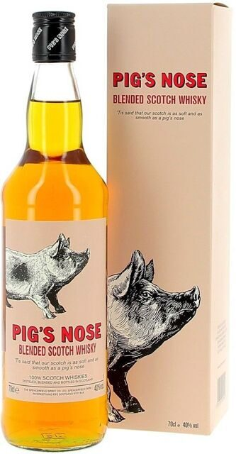 "Виски Spencerfield Spirit, ""Pig's Nose"", gift box, 0.7 л"