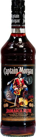 "Ром ""Captain Morgan"" Black, 0.7 л"